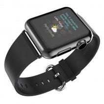 Ремешок Hoco Leather Buckle Black для Apple Watch