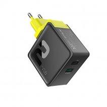 Сетевое ЗУ ROCK Sugar PD QC3.0 Charger 36W 2 USB