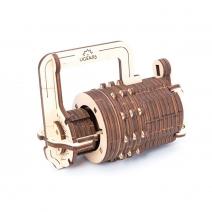 Механический деревянный конструктор Ugears Кодовый замок 70020