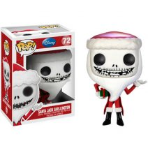 Фигурка Funko Pop Кошмар перед Рождеством - Санта Джек Скеллингтон (Nightmare Before Christmas - Santa Jack Skellington)
