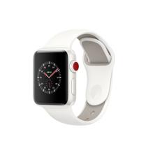 Умные часы Apple Watch Series 3 Edition, 38mm, корпус из керамики, спортивный ремешок белого цвета