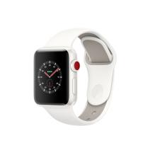 Умные часы Apple Watch Series 3 Edition, 42mm, корпус из керамики, спортивный ремешок белого цвета