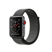 Умные часы Apple Watch Series 3 GPS+Cellular, 42mm, алюминий цвета «серый космос», нейлоновый ремешок тёмно-серого цвета