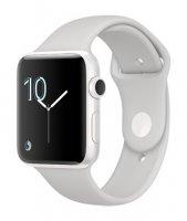 Умные часы Apple Watch series 2 Edition, 42mm , белая керамика, спортивный браслет «светлое облако»