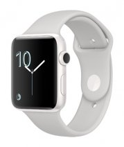 Умные часы Apple Watch series 2 Edition, 38mm , белая керамика, спортивный браслет «светлое облако»
