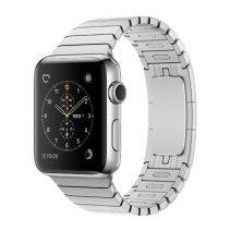 Умные часы Apple Watch series 2, 38mm, корпус из нержавеющей стали, блочный браслет