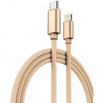 Кабель ROCK C6 Metal Cable Type-C – Lightning