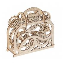Механический деревянный конструктор Ugears Театр 70002