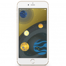 Apple iPhone 6S Plus 64Gb Gold Официально восстановленный