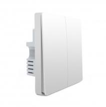 Умный выключатель Xiaomi Aqara Smart Light Control (двойной без нулевой линии) (QBKG03LM)