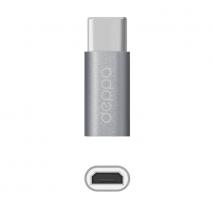 Переходник Deppa Alum Adapter Type C - Micro USB