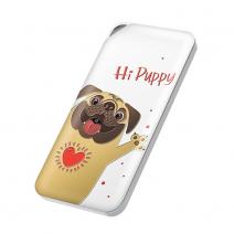 Портативный аккумулятор ROCK 10000mAh Hi Puppy