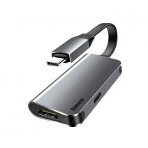 Переходник Baseus Little Box Smart Hub Converter Type-C – HDMI