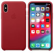 Чехол Apple iPhone XS Leather Case