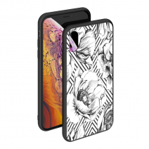 Чехол Deppa Glass Case для Apple iPhone X/XS