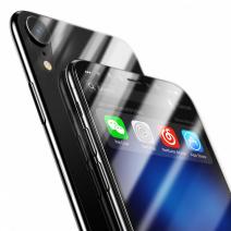 Комплект защитных стекол на переднюю и заднюю панель Baseus Screen Protector Glass Film Set для iPhone XR