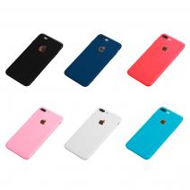 """Силиконовый чехол Second Skin для iPhone 7 Plus """"Мне повезет"""""""