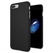 Силиконовый чехол премиум для iPhone 7/8 Plus Черный / Black