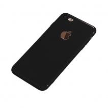 Силиконовый чехол Second Skin для iPhone 7/8 Plus Черный / Black