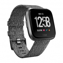 Умные часы Fitbit Versa Special Edition Charcoal Woven/Graphite Aluminium