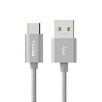 Кабель ROCK С2 Type-C to A Cable 25cm USB – Type-C