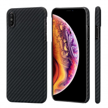 Чехол Pitaka Aramid MagCase Twill для iPhone XS Max  Black-Grey