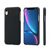 Чехол Pitaka Aramid MagCase Twill для iPhone XR  Black-Grey