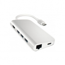 Переходник Satechi Aluminum Type-C Multi-Port Adapter ST-TCMAS