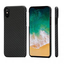 Чехол Pitaka Aramid MagCase Twill для iPhone X Black-Grey