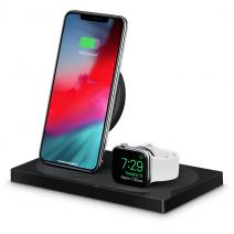 Док-станция c беспроводной зарядкой для Apple Watch и iPhone Belkin Boost Up