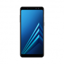 Смартфон Samsung Galaxy A8 (2018) 64Gb Черный/Black