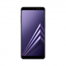Смартфон Samsung Galaxy A8 (2018) 32Gb Серая Орхидея / ORCHID GRAY
