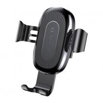 Беспроводная зарядка + держатель Baseus Gravity Wireless Charger Car Mount