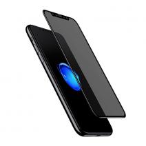 3D антишпионское стекло Baseus Anti-peeping Glass Film для iPhone X