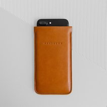 Кожаный чехол-карман Handwers x Nile для iPhone X