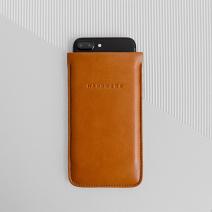 Кожаный чехол-карман Handwers x Nile для iPhone 6/7/8 Plus