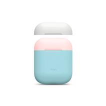 Силиконовый чехол для AirPods со сменными крышками разных цветов Elago Silicone DUO