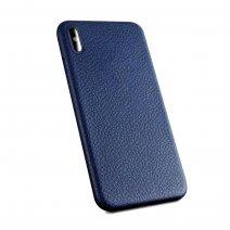 Чехол с фактурой кожи Likgus Protective Series Case для iPhone X