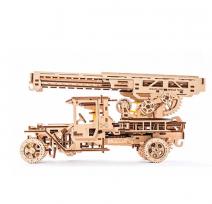 Механический деревянный конструктор Ugears Пожарная лестница 70022