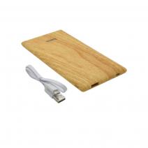 Портативный аккумулятор + чехол Hoco B10 Wood Grain Power Bank 7000 mA/h