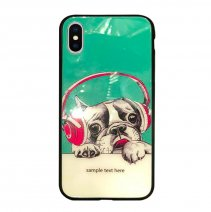 Чехол из TPU и стекла BEATS BY DOG для iPhone X