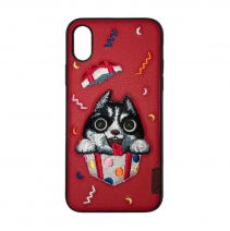 Чехол с вышивкой Comma Dog Embroidery Case Surprize
