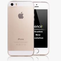 Cиликоновый чехол для iPhone 5S/5 глянцевый прозрачный
