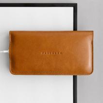 Кожаный чехол-портмоне Handwers x RANCH 2017 для iPhone X