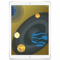 Apple iPad Pro 128Gb Wi-Fi + Celluar Gold