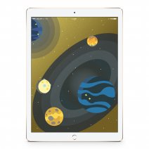 "Apple iPad Pro 9,7"" 128Gb Wi-Fi + Celluar Gold"