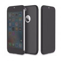 Флип-чехол с полупрозрачной крышкой ROCK Dr. V Series Protection Case для iPhone X