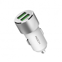 Автомобильное ЗУ ROCK Sitor QC3 Dual USB Car Charger