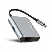 Хаб Baseus Enjoyment Series Type-C – USB 3.0 + Ethernet
