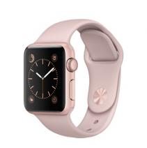 Умные часы Apple Watch series 2, 38mm, корпус из алюминия цвета «розовое золото», спортивный ремешок цвета «розовый песок»